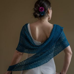 Elena Shawl Knitting Pattern By Devanalana