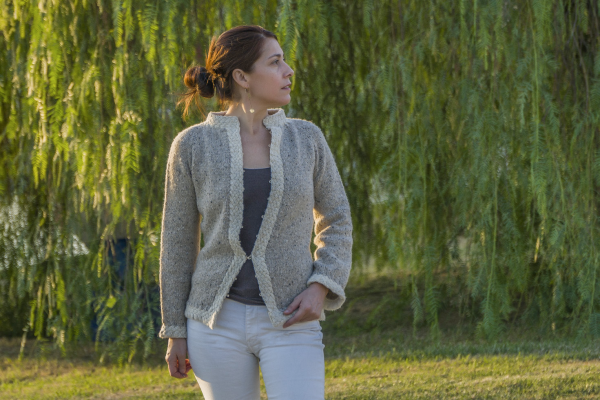 Alexandra Cardigan Knitting Pattern