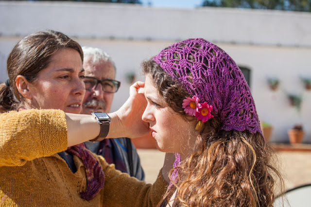 Chal / Mantoncillo flamenco devanalana