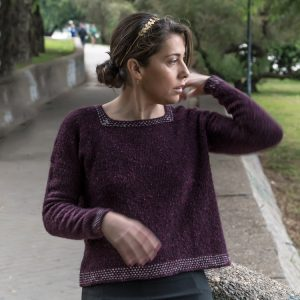 Mimosa Sweater Knit Pattern