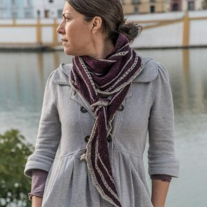 Ronda Shawl knitting pattern by devanalana