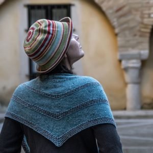Tarifa Shawl knit Pattern